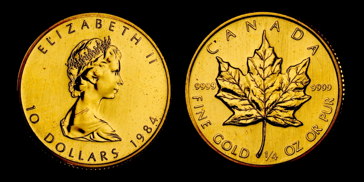 $10 Gold Canadian