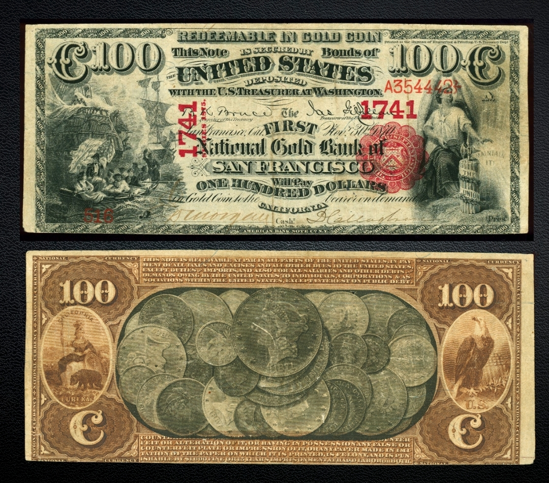 100 national gold certificate
