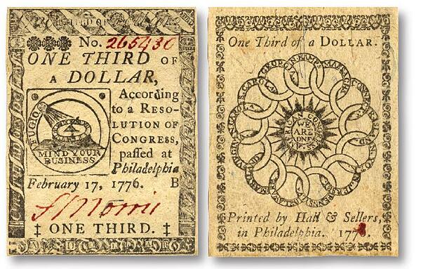 1776 paper notes