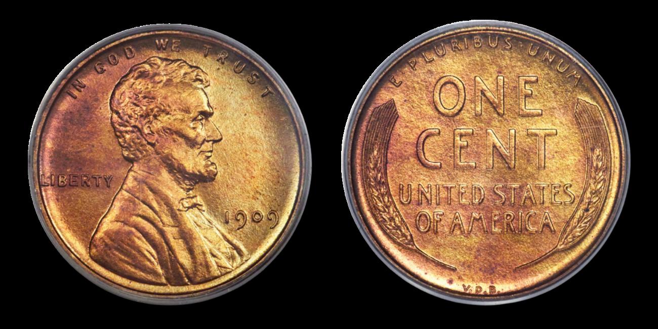 1909 VDB Cent