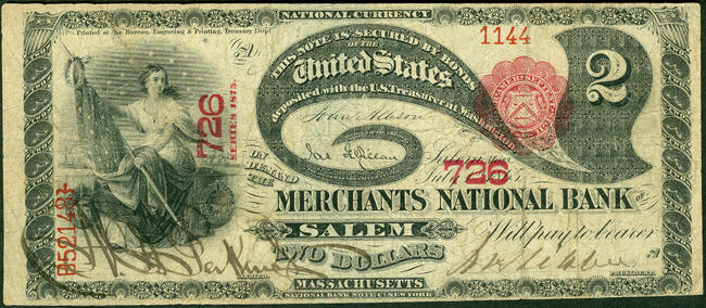 National Bank Note f