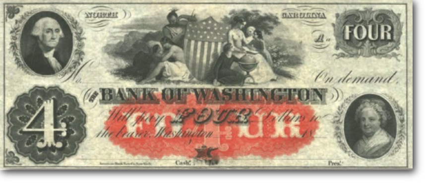 bank of washnigton note
