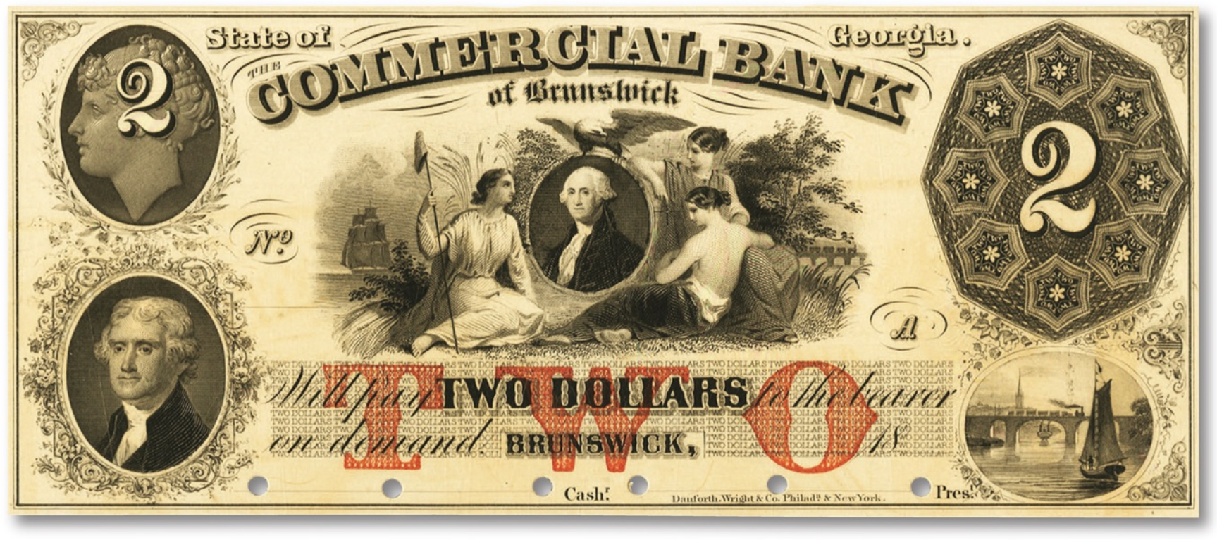 brunswick commercial bank note