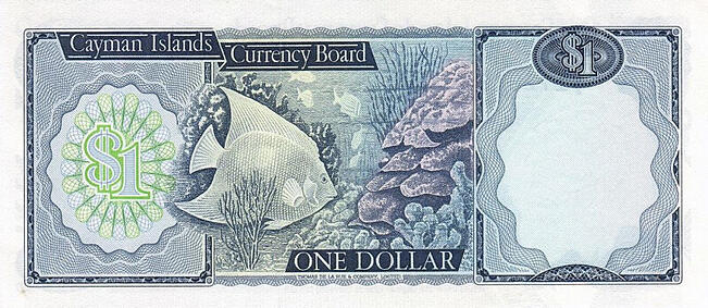 cayman islands banknote