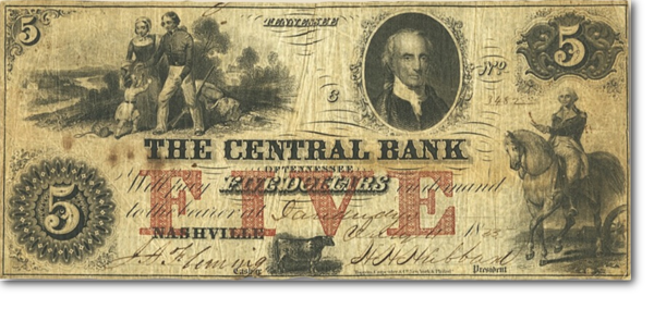 central bank washnigton note