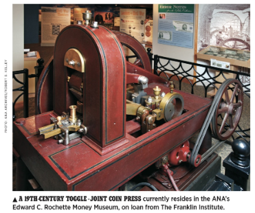 coin press invention