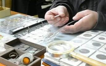 coins in folder
