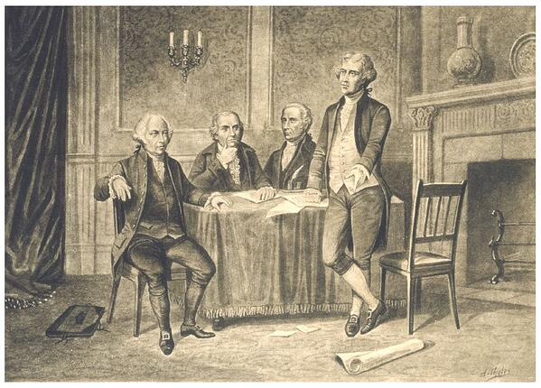 continental congress painting