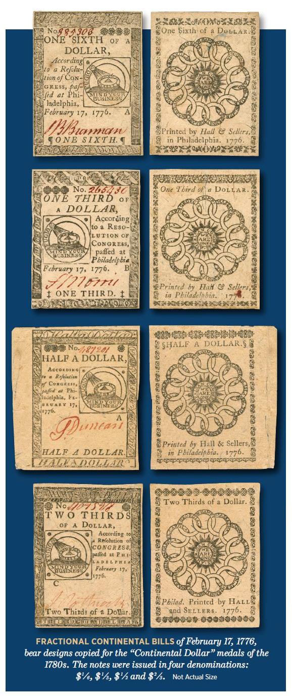 fractional continental bills