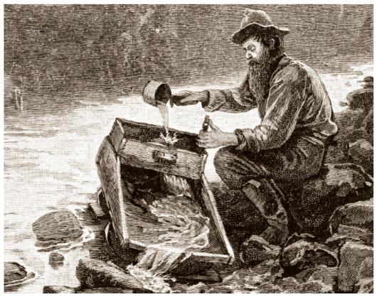 goldrush illustration