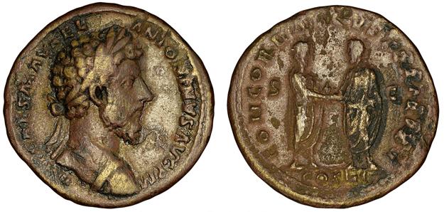 marcus aurelius roman coin