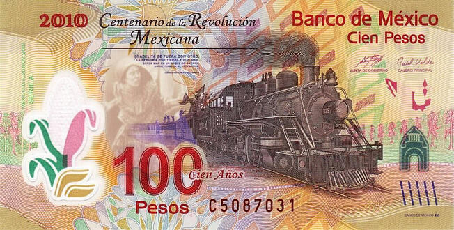 mexican banknote