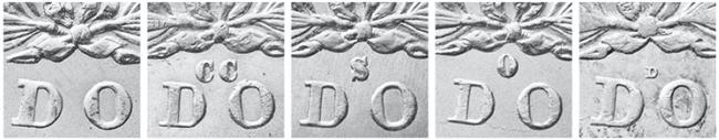 morgan dollar mintmarks
