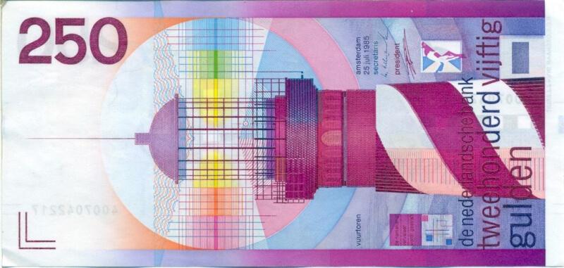 netherlands banknote 250