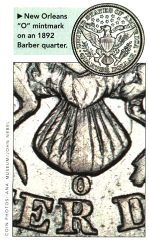 new orleans mint mintmark