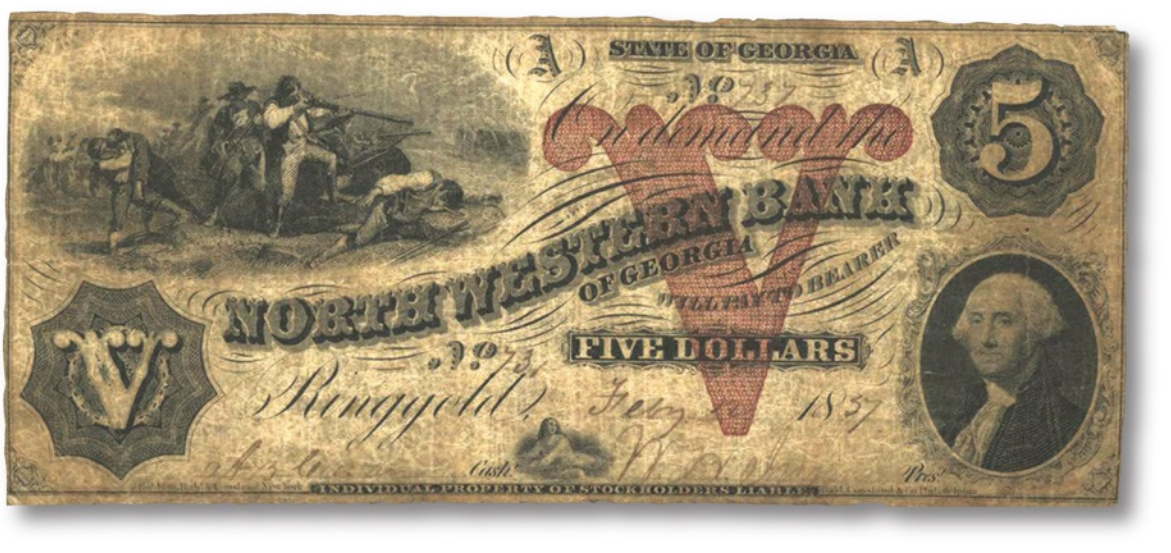 northwestern bank washington note