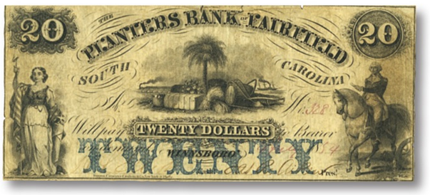 planters bank washington note