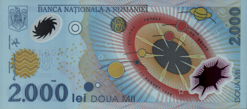 romanian banknote