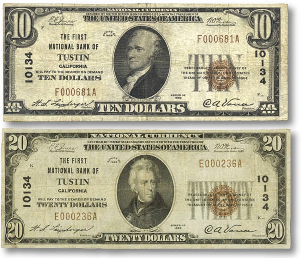 small size type 1 notes