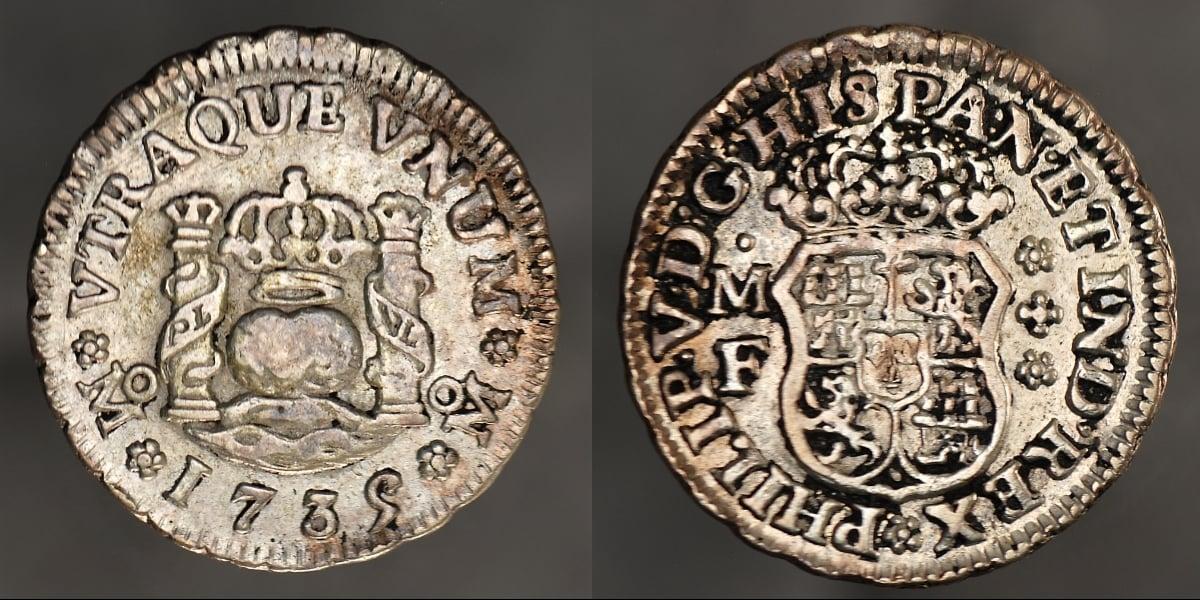 spanish milled dollar