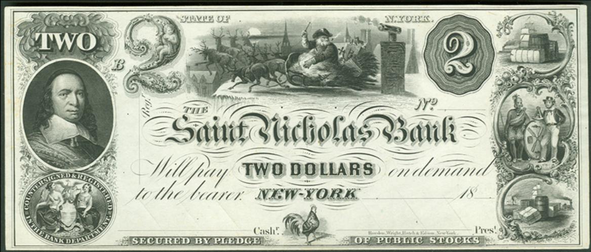 st nicholas banknote