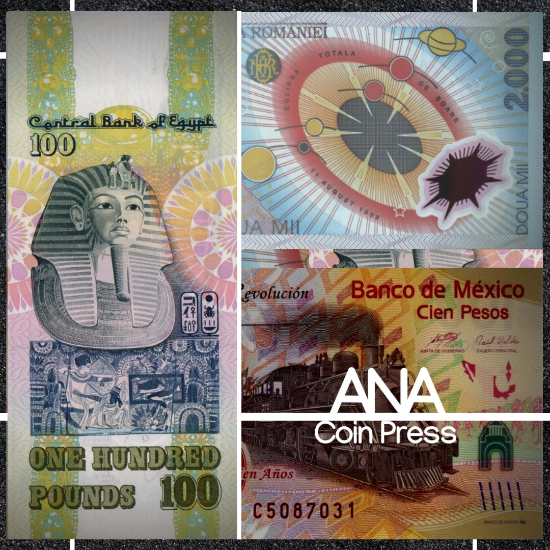 Cleared for Takeoff: World Banknotes